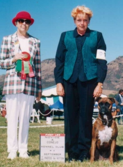 Folly & Barbara - Conejo Kennel Club